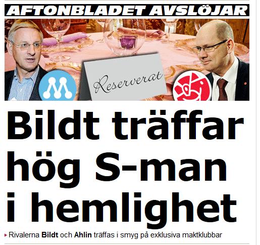 Bildt + Sossarna + droger = sant?