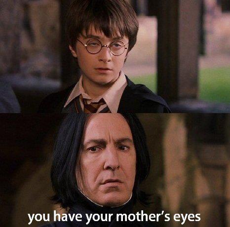Din mors ögon