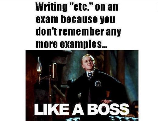 etc, like a boss
