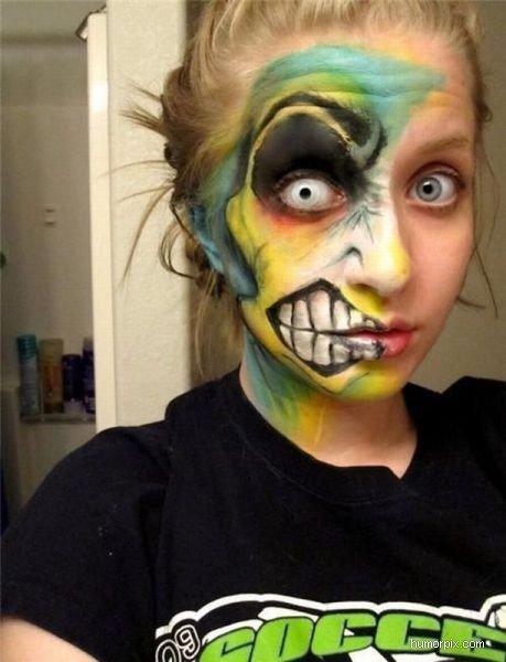 Fantastisk ansiktsmålning