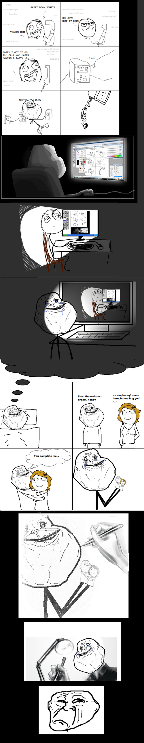 Forever Alone Guy möter Inception