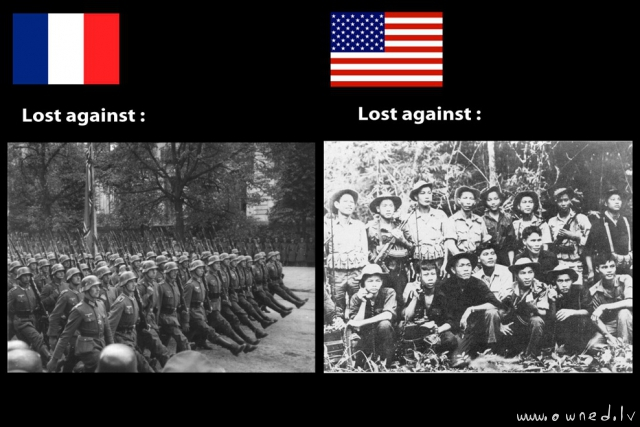 Frankrike vs USA