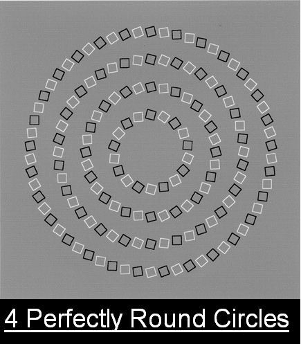 Fyra runda cirklar