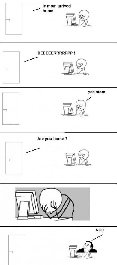 Hej älskling! Är du hemma?