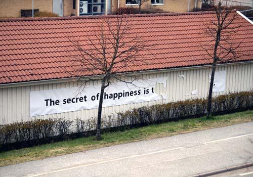 Hemligheten bakom lycka