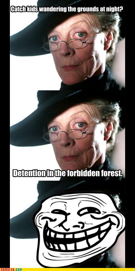 Hogwarts straffsystem