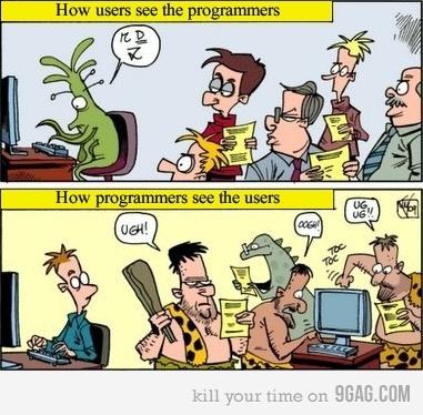 Hur folk ser programmerare och vice versa