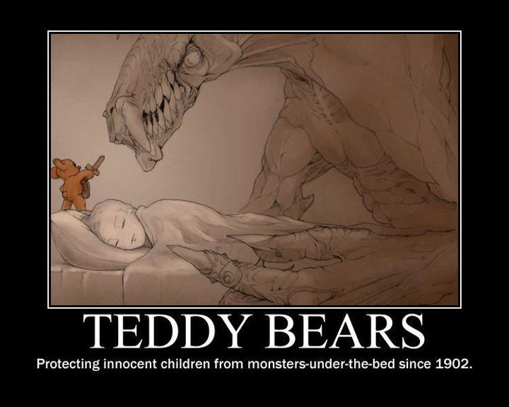 Hur hade vi klarat oss utan teddybjörnar?