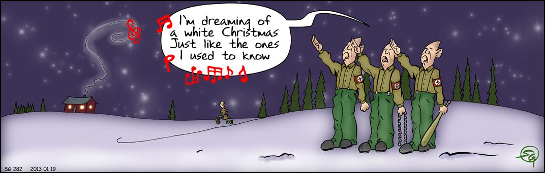 i AlrunornA: Vit jul?