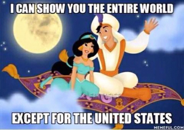 I can show you the world...
