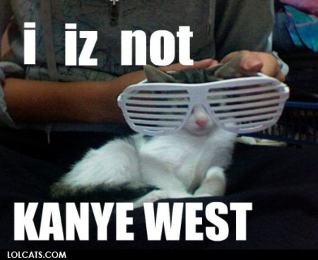 iz kanye west hahah