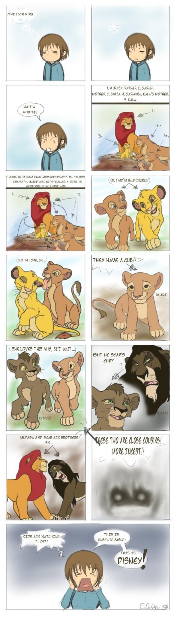 Incest i Lejonkungen