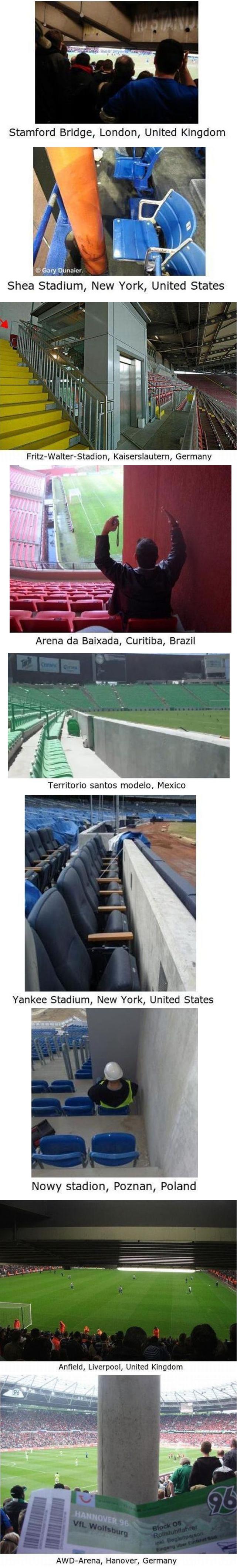 Inte helt genomtänkta sittplatser