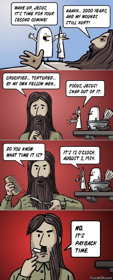 Jesus payback