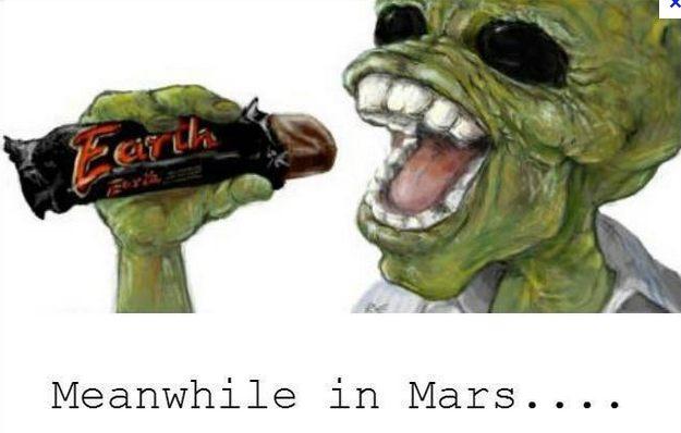 Just nu på Mars