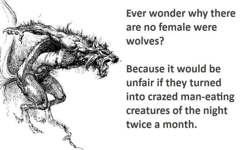 Kvinnliga varulvar?