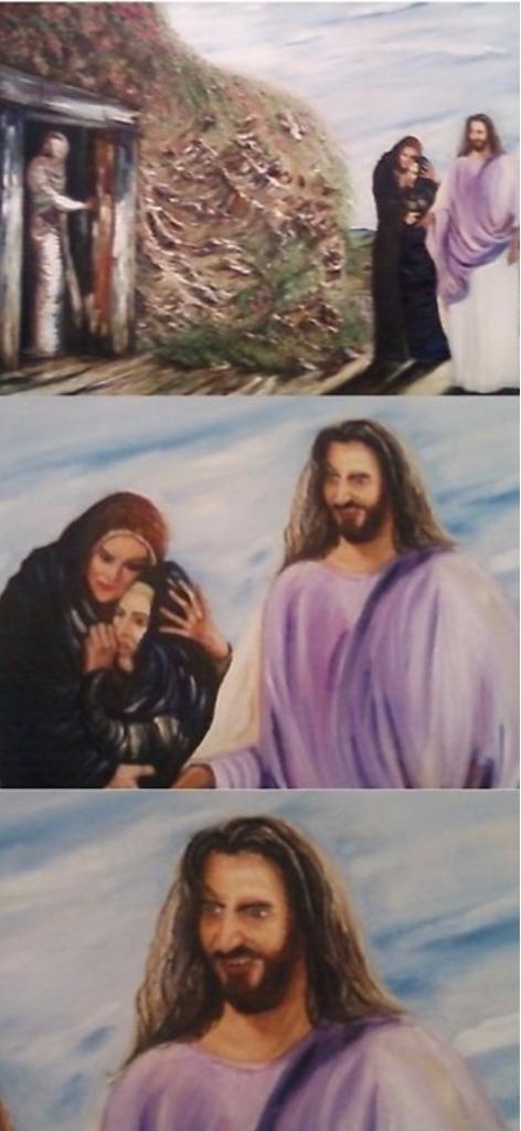 Lägg av Jesus. Sluta larva dig.