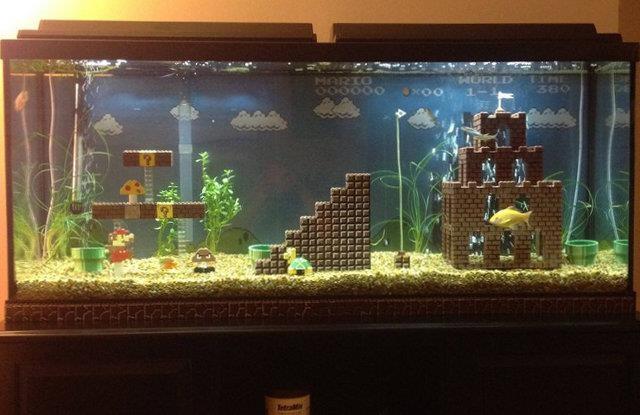 Mario akvarium