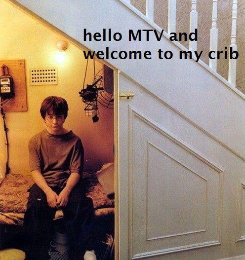 MTV Crib med Harry Potter