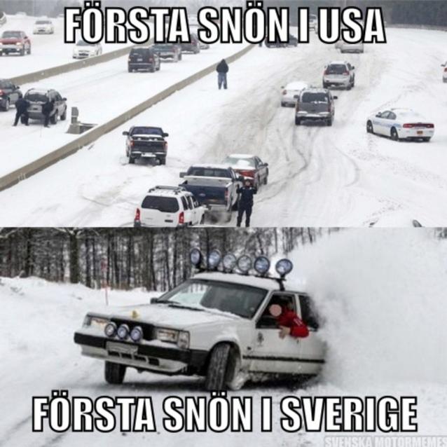 när snön kommer