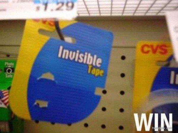 Osynlig tejp