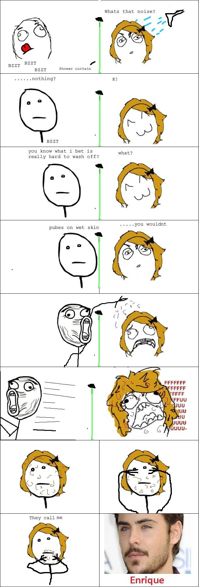 Pube rage