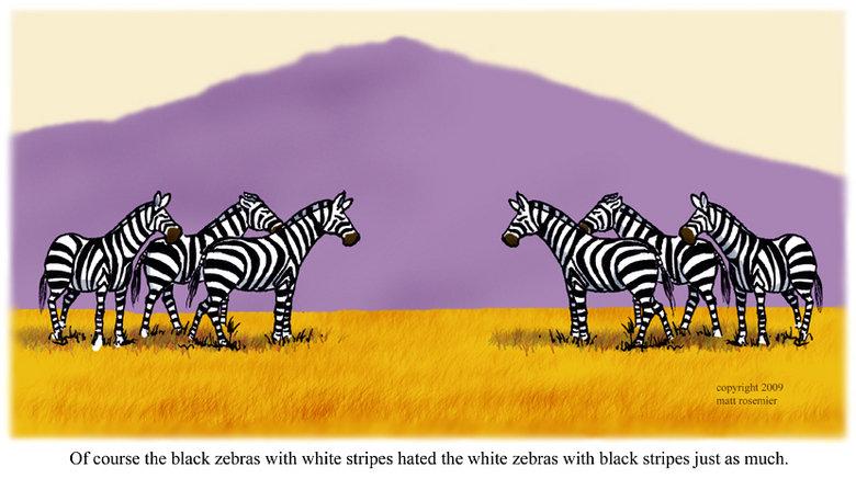 Rasism i djurens rike