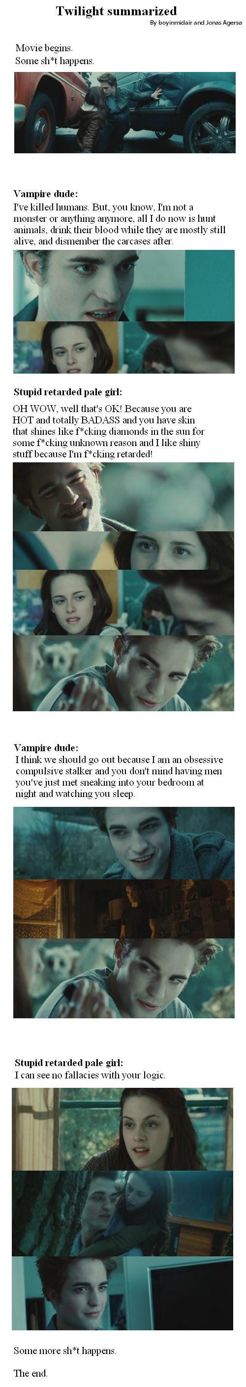 Sammanfattning av Twilight