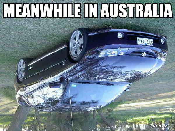 Samtidigt i Australien
