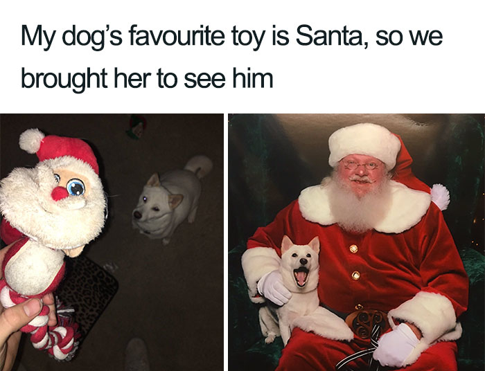 Santa's biggest fan