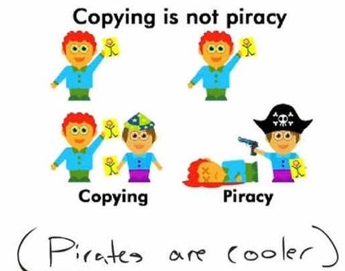 Skillnaden mellan fildelare och pirater!