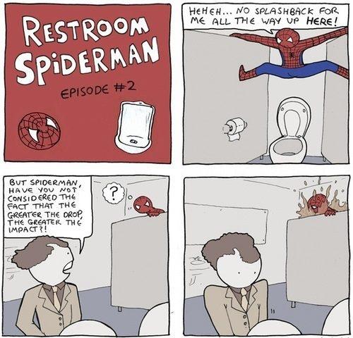 Spiderman på muggen