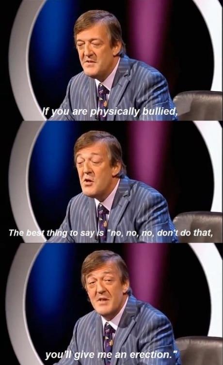 Stephen om hur man motverkar mobbning