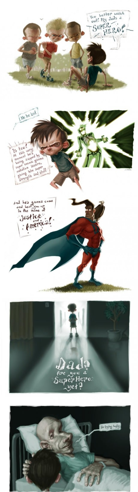 Superhjälte till farsa