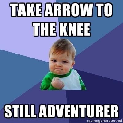 Take an arrow