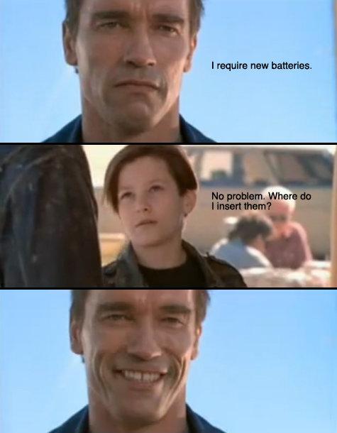 Terminator drivs inte av luft!
