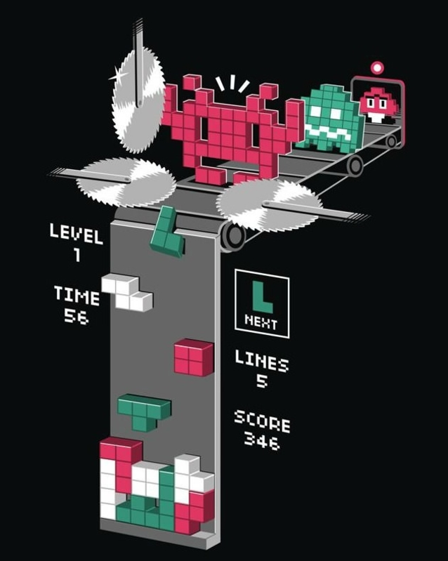 Tetris hemska sanning