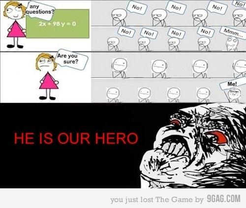 Våran hjälte!