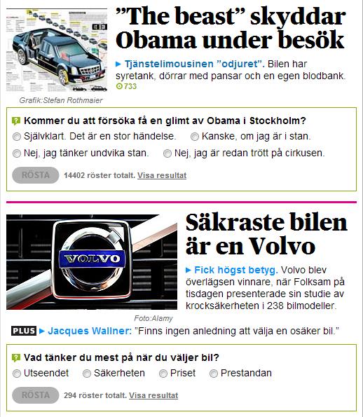 Verkar som Obama valt fel bil