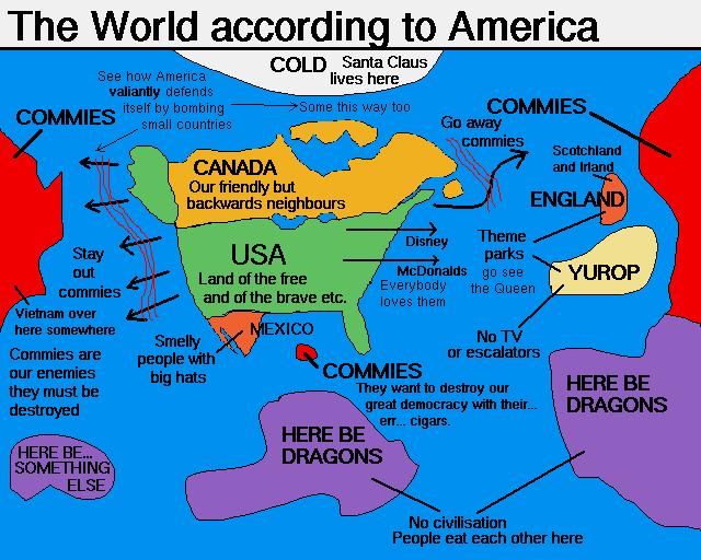 Världen enligt USA