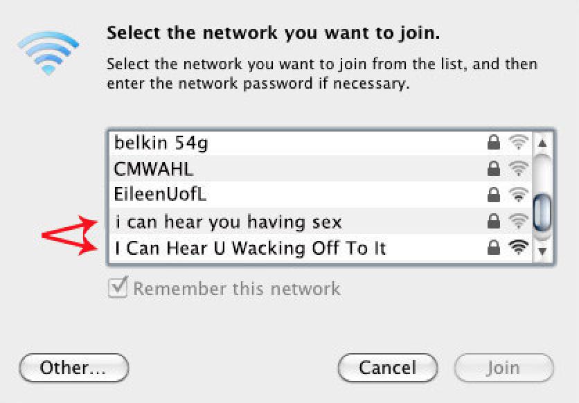 WiFi-namn <3