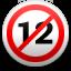 Anti P12-skylt