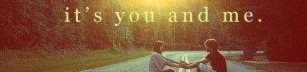Du och jag, och...