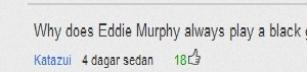 Eddie murphy is black?