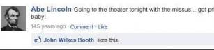 Facebook i historien