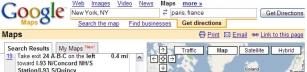 Google Maps går inte att lita på!