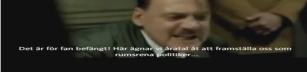 Hitlers reaktion på SD:s reklam