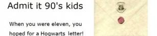 Hogwarts brev