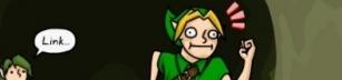 Link, lite av en douch