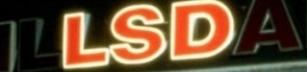 LSD skylt